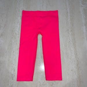 Authentic American Heritage pink crop leggings